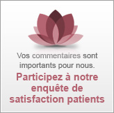 Participez à notre enquête de satisfaction patients