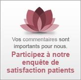 Participez à notre enquête de satisfaction patients