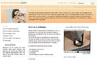 Votredermato.com le portail grand public de la dermatologie